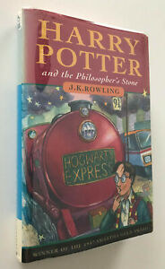 1997 First Edition Harry Potter and the Philosopher/Sorcerer's Stone & Extras!