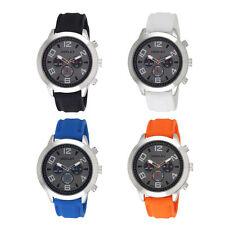 Men's Quartz (Battery) Silicone/Rubber Strap Wristwatches