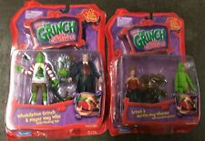 Lot Of 2 How the Grinch Stole Christmas Playmates Figures Martha May Mayer Who