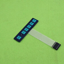1x6 Matrix Array 6 Key Membrane Switch Keyboard Keypad 1*6 Keys with Led