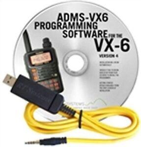ADMS-VX6 CAVO E SOFTWARE DI PROGRAMMAZIONE PER YAESU VX-6 cod.700015