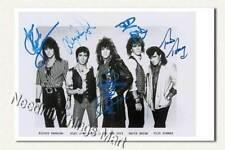 Jon Bon Jovi / John Francis Bongiovi BAND - Autogrammfotokarte laminiert [K01]
