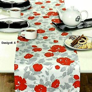 DESIGNER,S Table-runner FIVE STAR QUALITY DUAL SIDE PLACE MAT 35 x 180 cm, D6