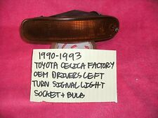1990-1993 TOYOTA CELICA FACTORY OEM DRIVERS LEFT TURN SIGNAL LENS FREE SHIPPING