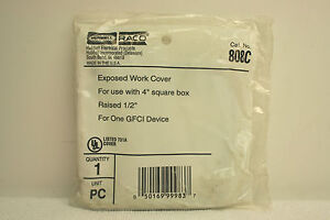 Raco 808C Exposed Work Cover **SEALED**