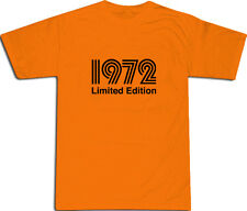 1972 Limited Edition Cool T-SHIRT S-XXL # Orange