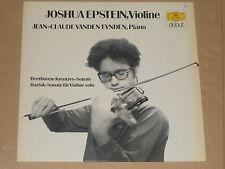 JOSHUA EPSTEIN (Violine) Beethoven, Bartok LP