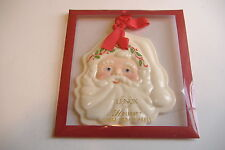 ~Lenox~Santa Cookie Press~New