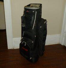 Datrek Golf Cart Bag 8-Way Divider System Putter Sleeve Cheerwine Logo #889