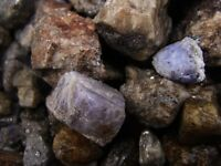 1000 Carat Lots of Unsearched Natural Tanzanite Rough + A FREE Faceted Gemstone