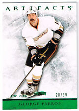 12-13 Artifacts EMERALD xx/99 Made! George PARROS #29 - Ducks