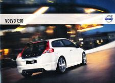 2009 Volvo C30 40-page Original Car Sales Brochure Catalog