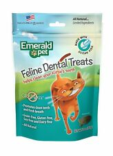 Emerald Pet Feline Dental Treats Ocean Fish Flavor 3 ounces