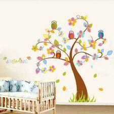 Markenlose Deko-Wandtattoos & Wandbilder im Kinder-Stil mit Baum