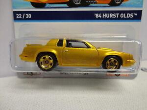 Hot Wheels '84 HURST OLDS Spectrafrost Gold 1984 COOL CLASSICS #22 Gold Card VAR