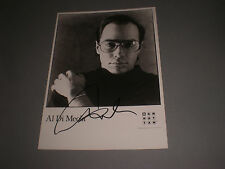 Al Di Meola  jazz guitar signed autograph Autogramm 5x7 inch photo in person