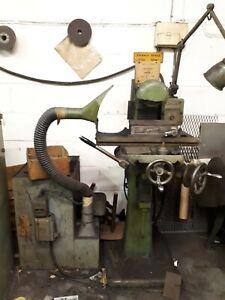 Herbert Junior Surface grinder with spark catcher, working order needs attention