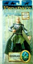 Lord if the Rings Legolas with Dagger Throwing Action New In Box