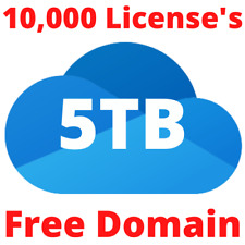 OneDrive 5TB for 10,000 accounts + Free Domain Register Accounts Lifetime access