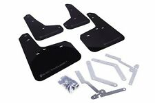 Rally Armor UR Black Mud Flap w/ Grey Logo For 12+ Ford Focus ST/SE/Ti/RS