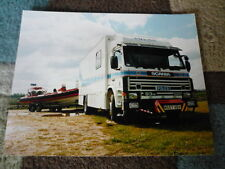 SCANIA POLICE TRUCK PUBLICITY PHOTO Brochure connected  jm