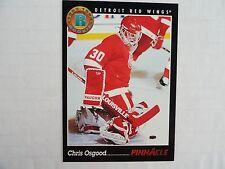 Chris Osgood 1993/94 Score Pinnacle Rookie Card Detroit Red Wings SHIPS FREE !!!