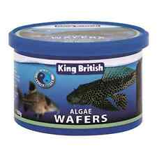 King British Algae Wafers 200g (2 x 100g) bottom feeding catfish and Plecostomus
