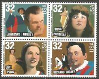 USA 1997 Opera Singers 3154-3157a MNH **