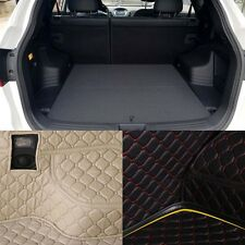 PU Leather Rear Trunk Cargo Liner Protector Mat Seat Back Cover For Hyundai IX35