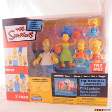 The Simpsons The original Simpsons 5 exclusive figures base - by Playmates worn