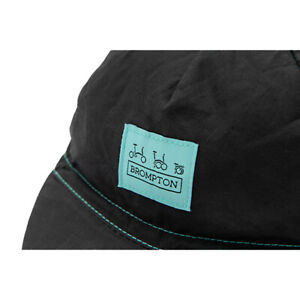 Logo Collection Cycling Cap in Black / Turkish Green