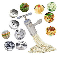 Premium Noodle Maker Kitchen Stainless Steel Pasta Fruit Press Spaghetti Machine