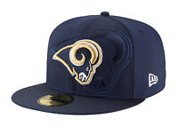 New Era 59Fifty NFL Cap Los Angeles Rams 2016 On Field Fitted Team Hat - Blue