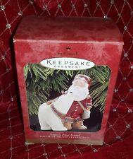 Hallmark Archive Merry Christmas Keepsake Ornament Santa Claus Polar Bear Friend