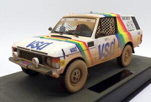 Top Marques 1/18 Scale TMPD-01AD Range Rover 1st Paris Dakar VSD 1981