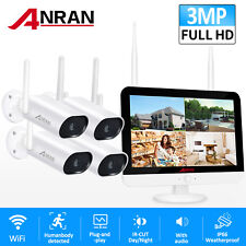 Anran Home 1080P Hd Outdoor Wireless Security Camera System Cctv Hdmi WiFi Kits