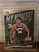 2019 - 2020 Donruss Optic Giannis Antetokounmpo My House Insert Milwaukee Bucks