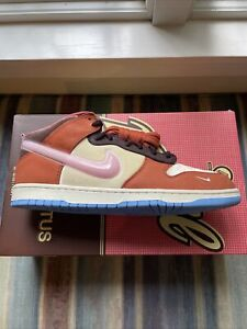 Nike Dunk Mid Social Status Free Lunch Chocolate Milk Ships Today!