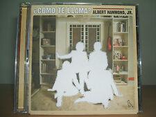 ALBERT HAMMOND JR - Como Te Llama? CD/DVD Set 2008 Rough Trade RTRADCD 458 Ex/Ex