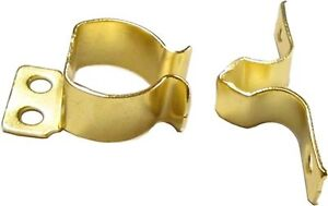 Steel FRICTION CATCH with Brass Finish  D1481