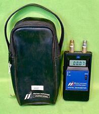 Digital Manometer Meriam Instruments D0020IW a Scott Fetzer Company w/ Case!