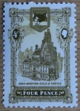 Discworld Stamps - Thieves Guild Four Pence (ORIGINAL) 2005 - SHS-AM0031-Aw