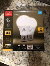Globe 60 Watt LED non-dimmable bulb @ 3 pack