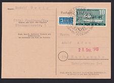 Briefmarken aus der französischen Zone in Baden (ab 1945) mit Einzelfrankatur