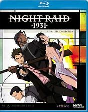 NIGHT RAID 1931 COMPLETE COLLECTION - BLU RAY - Region A - Sealed