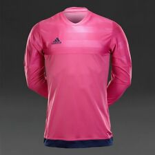 Adidas 15 Entry GK Goalie Goal Keeper Soccer Jersey Navy Pink Pads XL M62779