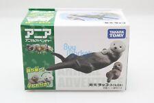 Takara Tomy ANIA Animal AS-15 Sea Otter set Mini Action Figure ZOO children Toy