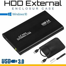 "2.5"" Inch HDD SSD External USB 3.0 to SATA Hard Drive Enclosure Case Caddy"