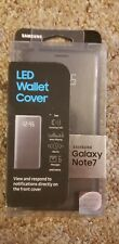 LED Wallet Cover Black Samsung Galaxy Note 7