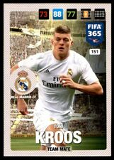 Panini 365 Adrenalyn XL 2017 Toni Kroos Real Madrid CF Team Mates No. 151